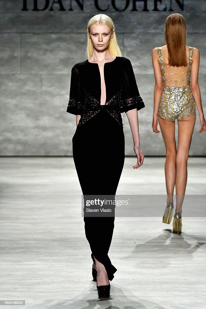 Idan Cohen Runway Mercedes Benz Fashion Week Fall 2015