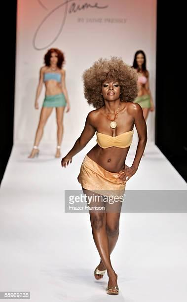 Mini Bikini Models Stock Photos and Pictures
