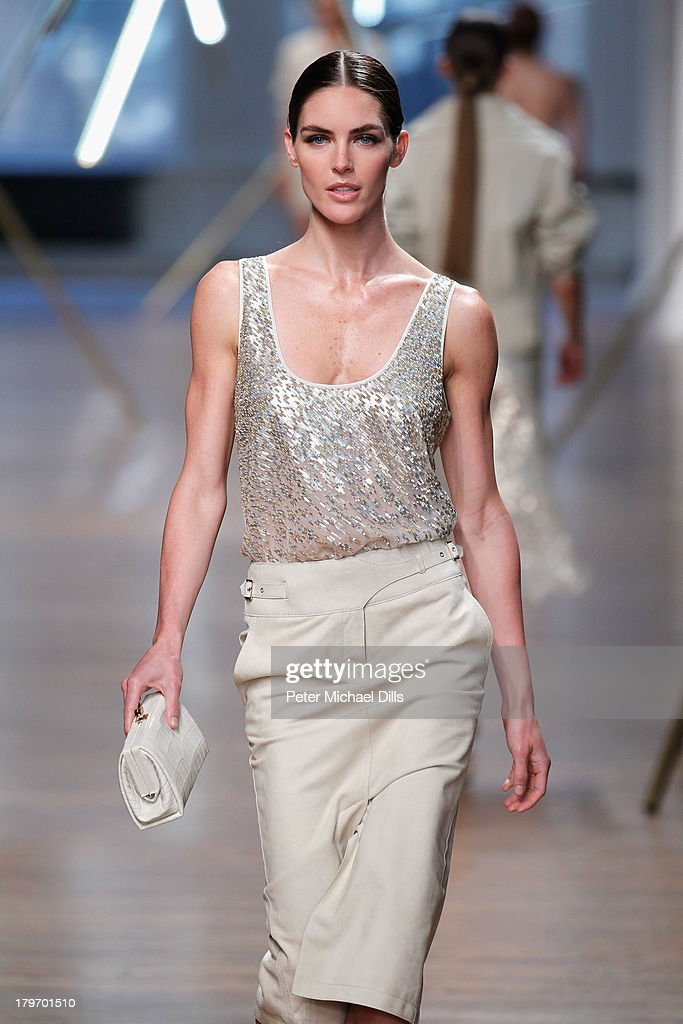A model walks the runway at the Jason Wu fashion show during Mercedes-Benz Fashion Week Spring 2014 at 82 Mercer on September 6, 2013 in New York City.