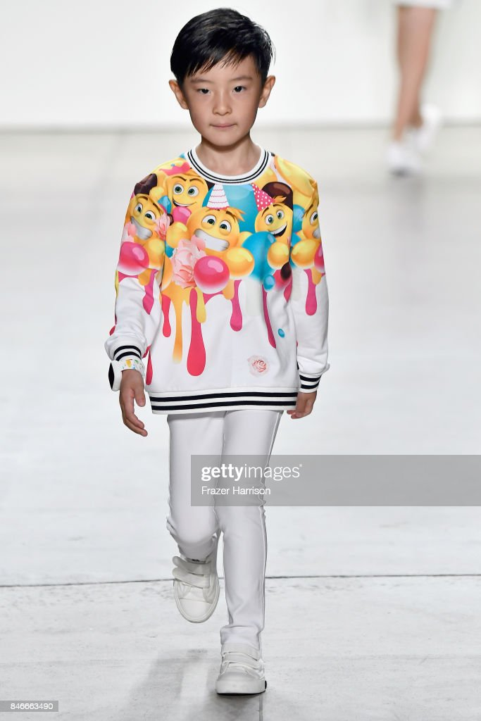 A model walks the runway at the Jia Liu fashion show during New York Fashion Week: The Shows at Gallery 2, Skylight Clarkson Sq on September 13, 2017 in New York City.