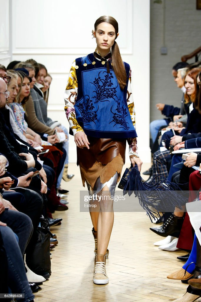 model-walks-the-runway-at-the-jwanderson-show-during-the-london-week-picture-id642895408