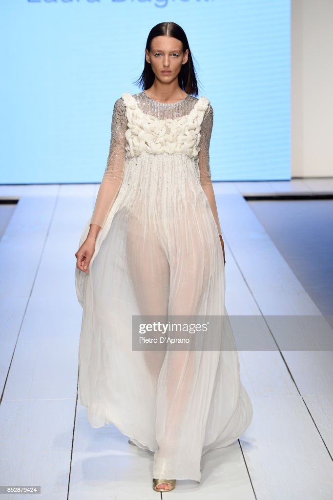 model-walks-the-runway-at-the-laura-biagiotti-show-during-milan-week-picture-id852879424
