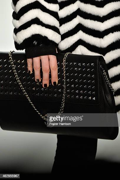 A model walks the runway at the Laurel show during MercedesBenz Fashion Week Autumn/Winter 2014/15 at Brandenburg Gate on January 16 2014 in Berlin...