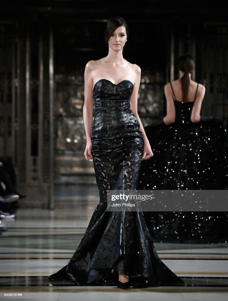 model-walks-the-runway-at-the-malan-breton-show-at-fashion-scout-the-picture-id642615766
