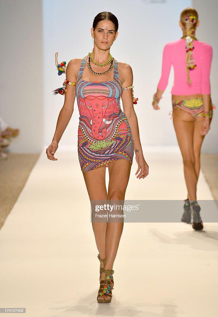 Mara hoffman swim at mercedes benz fashion week swim 2014 for Mercedes benz fashion show