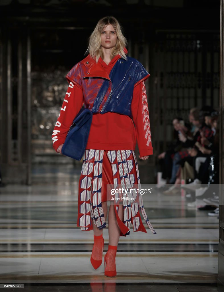 model-walks-the-runway-at-the-merit-award-winner-katie-ann-mcguigan-picture-id642627372