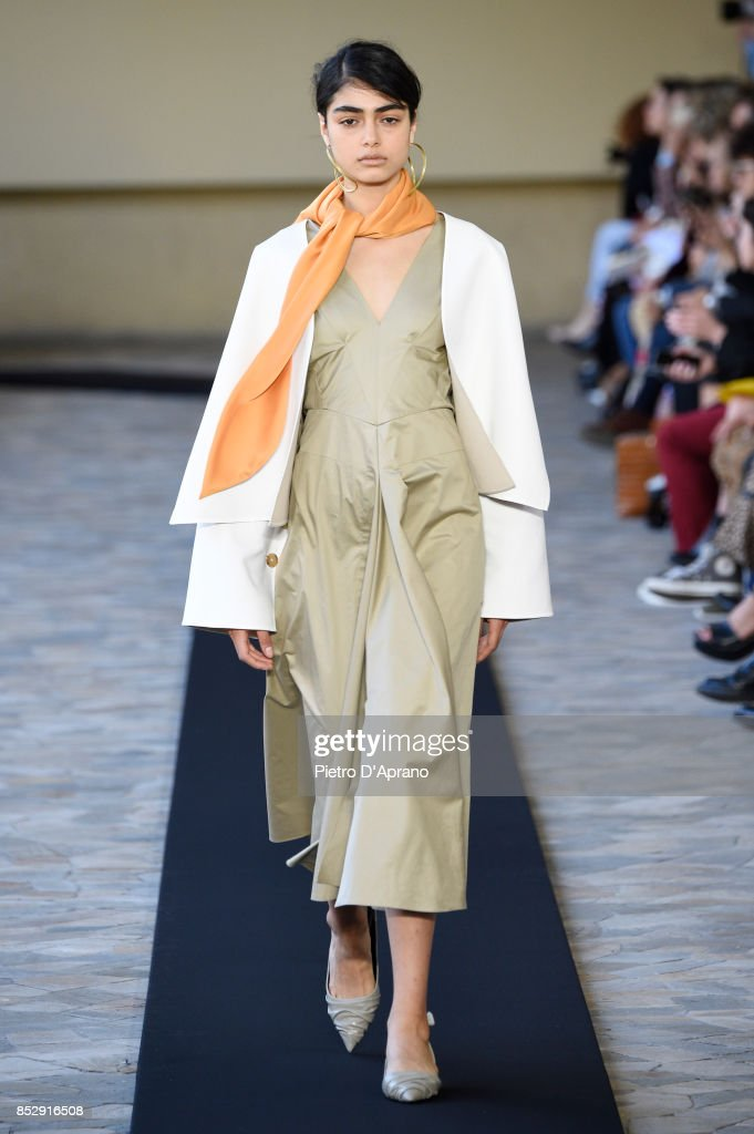 model-walks-the-runway-at-the-mila-schon-show-during-milan-fashion-picture-id852916508
