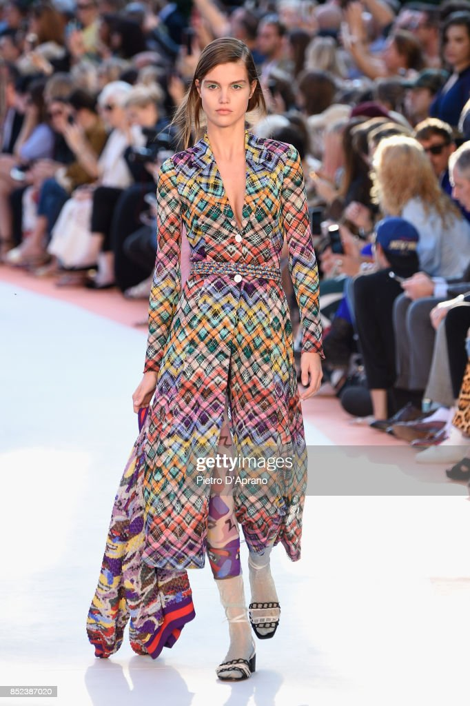 model-walks-the-runway-at-the-missoni-show-during-milan-fashion-week-picture-id852387020