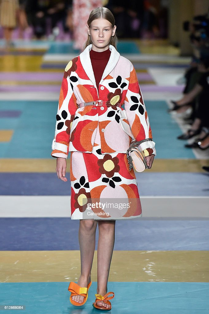 model-walks-the-runway-at-the-miu-miu-spring-summer-2017-fashion-show-picture-id612868064