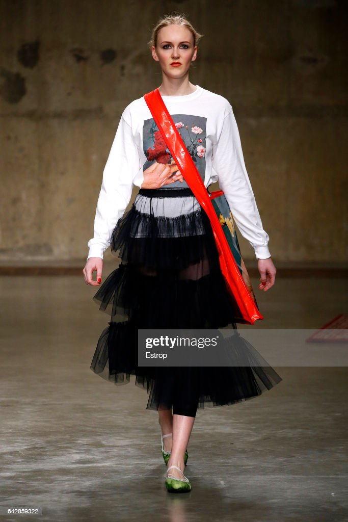model-walks-the-runway-at-the-molly-goddard-show-during-the-london-picture-id642859322
