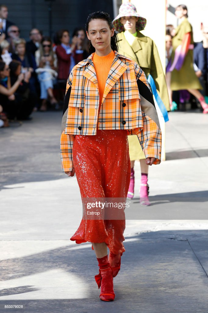 model-walks-the-runway-at-the-msgm-show-during-milan-fashion-week-picture-id853379326