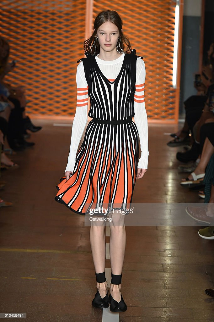 model-walks-the-runway-at-the-msgm-spring-summer-2017-fashion-show-picture-id610458494