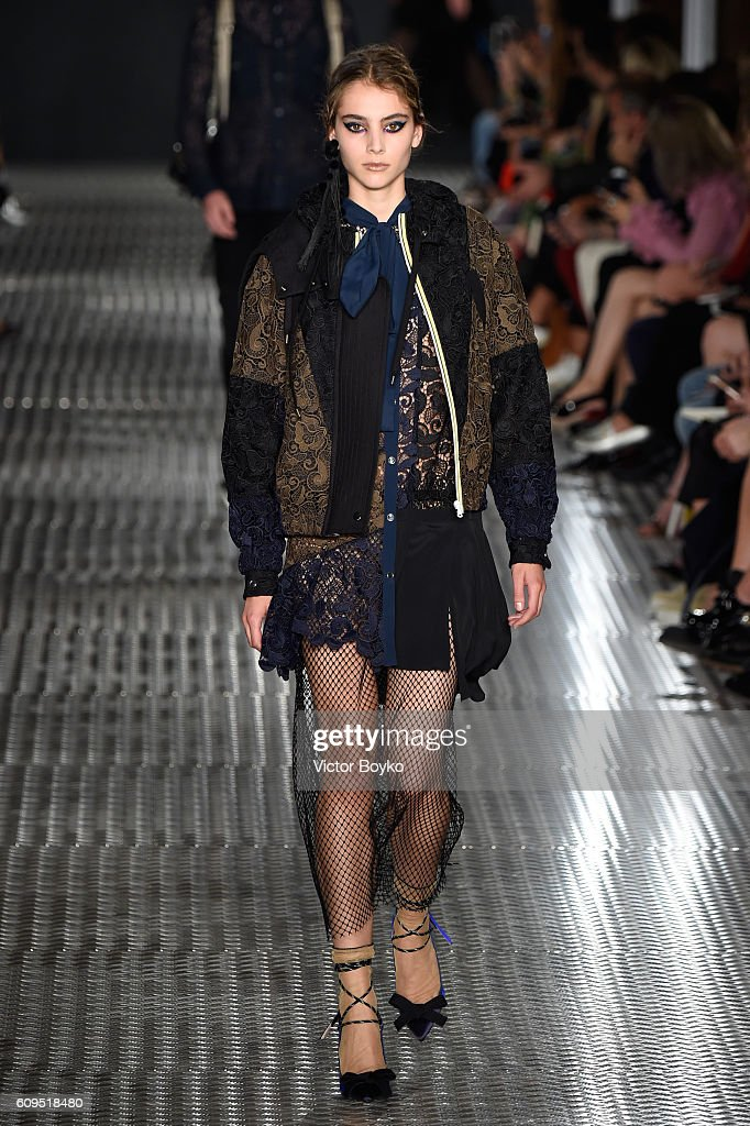 model-walks-the-runway-at-the-n21-show-during-milan-fashion-week-on-picture-id609518480
