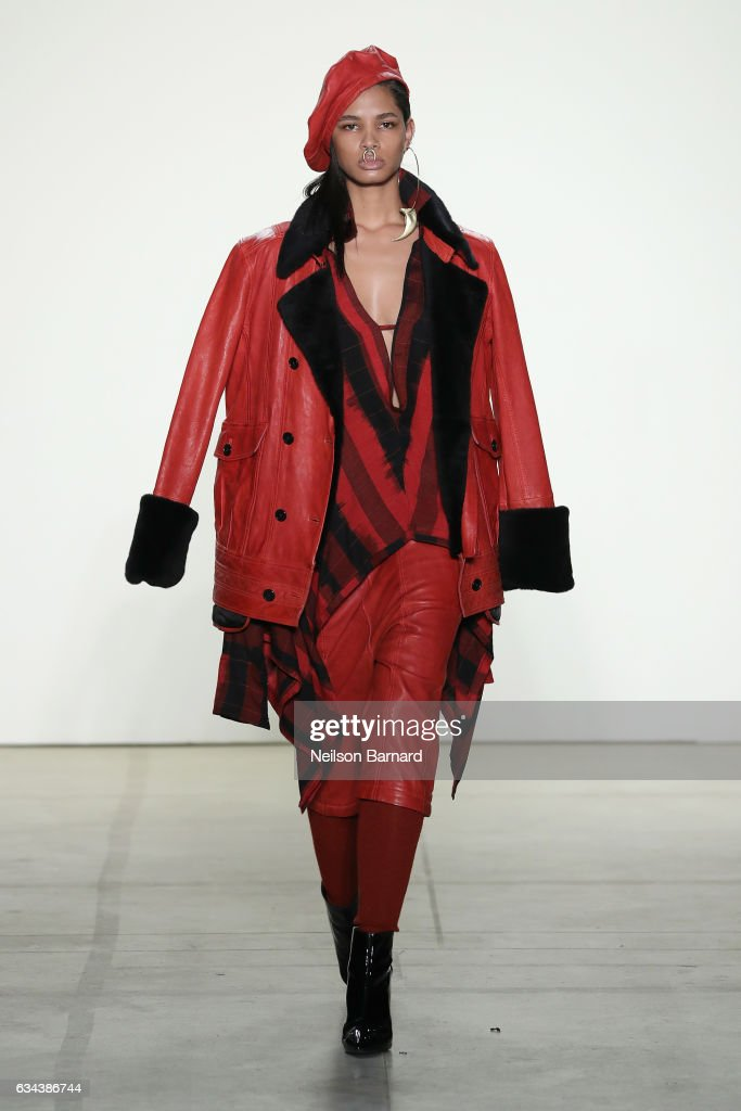 model-walks-the-runway-at-the-nicholas-k-show-during-new-york-fashion-picture-id634386744