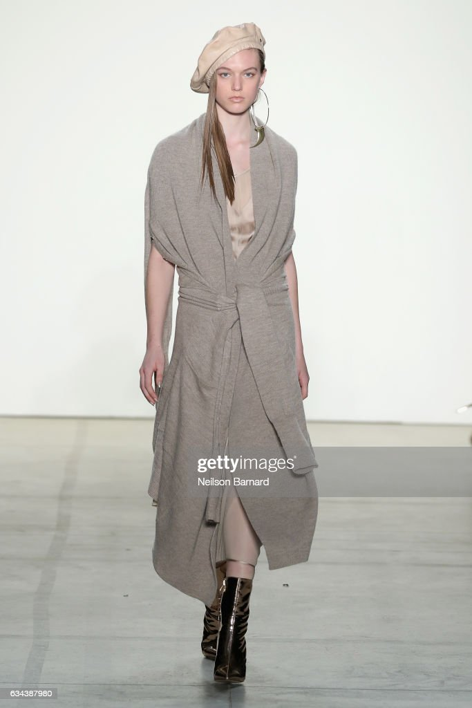model-walks-the-runway-at-the-nicholas-k-show-during-new-york-fashion-picture-id634387980