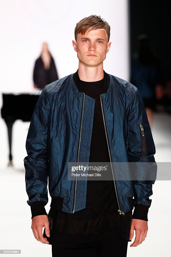 A model walks the runway at the Odeur show during the Mercedes-Benz Fashion Week Berlin Spring/Summer 2017 at Erika Hess Eisstadion on June 28, 2016 in Berlin, Germany.
