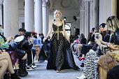 Oriental Fashion - Runway - Milan Fashion Week - Spring...