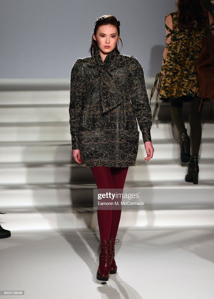 model-walks-the-runway-at-the-paul-costelloe-presentation-during-the-picture-id642410046
