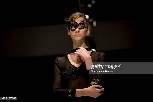 A model walks the runway at the Paul Hewitt show during Castilla Y Leon Fashion Week 2016 at MEH November 8 2016 in Burgos Spain