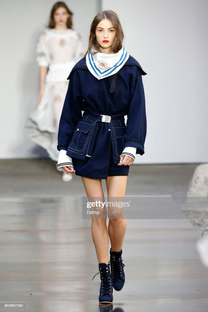 model-walks-the-runway-at-the-philosophy-by-lorenzo-serafini-show-picture-id852657280