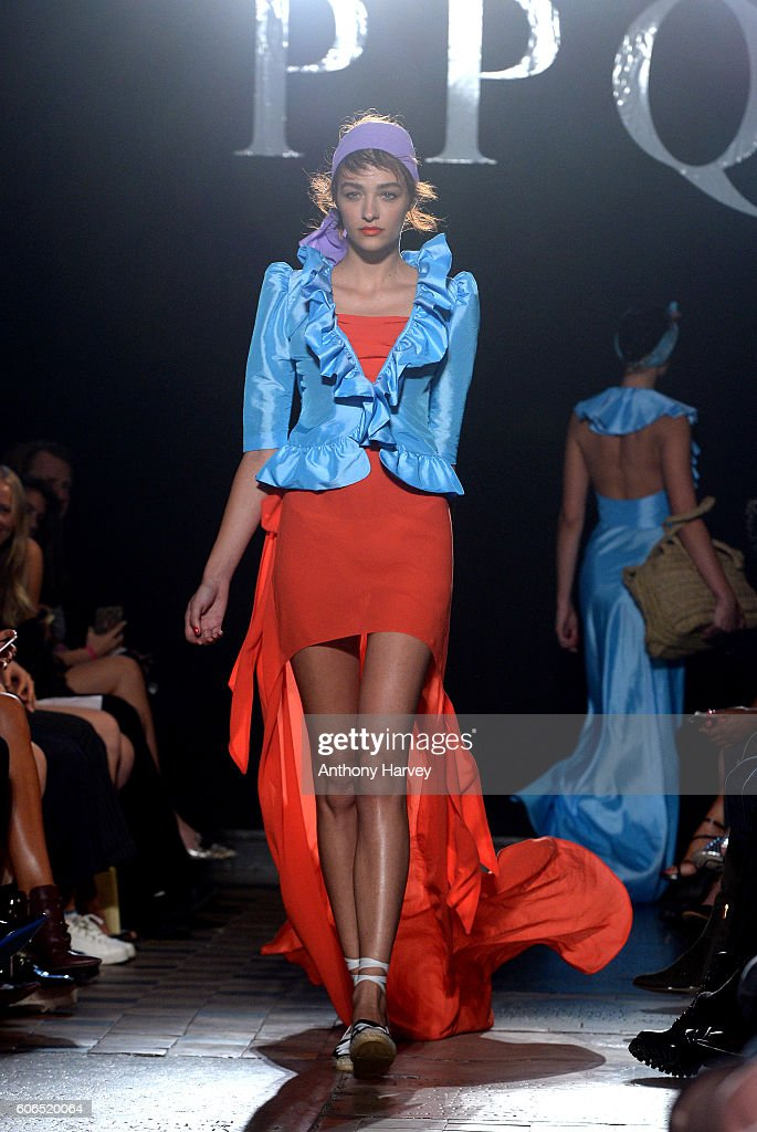 model-walks-the-runway-at-the-ppq-show-during-london-fashion-week-picture-id606520064
