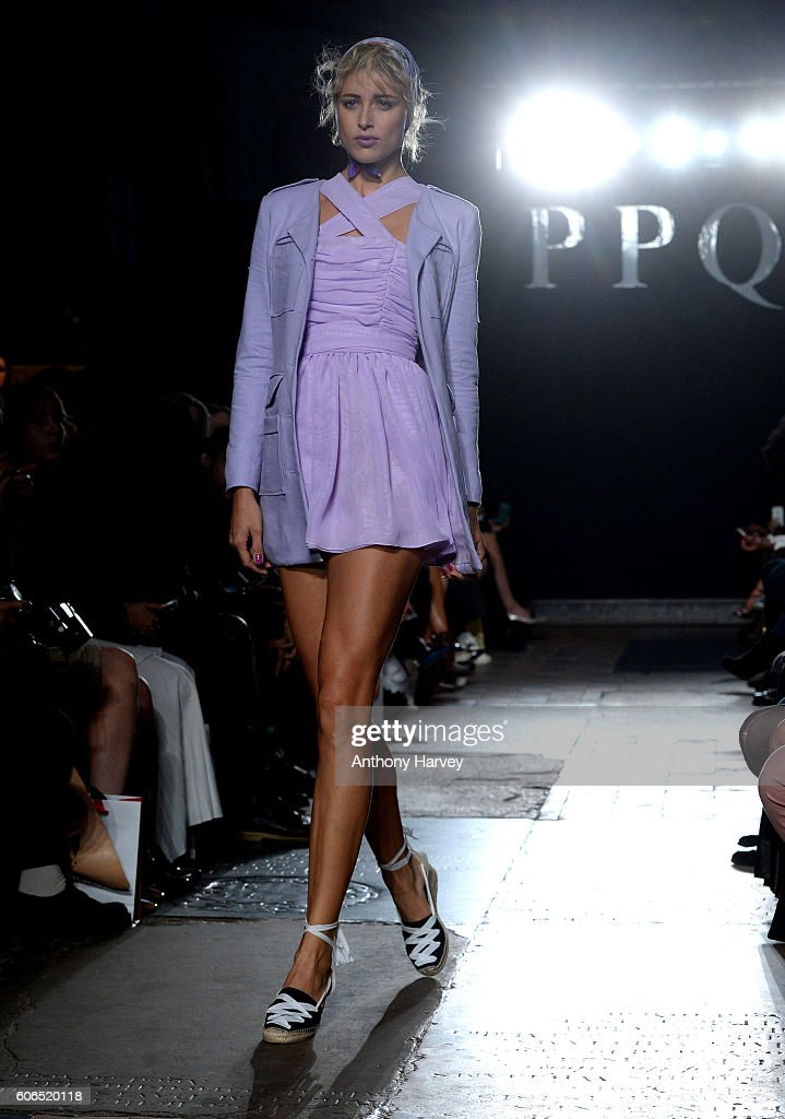model-walks-the-runway-at-the-ppq-show-during-london-fashion-week-picture-id606520118