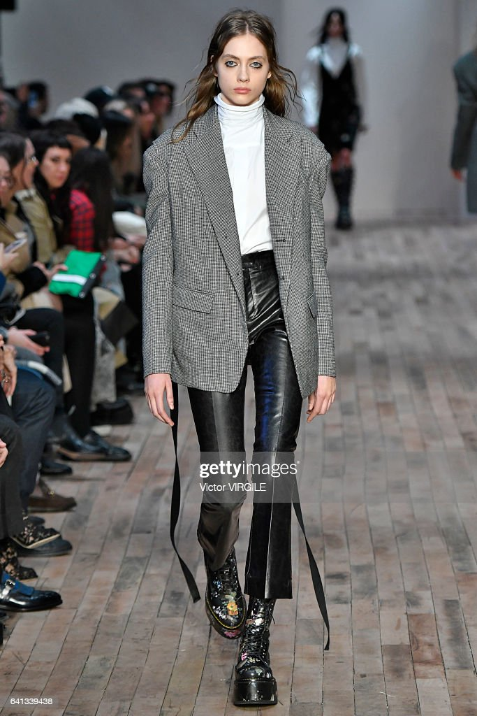 model-walks-the-runway-at-the-r13-fashion-show-during-new-york-week-picture-id641339438