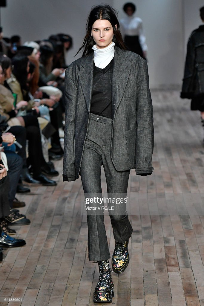 model-walks-the-runway-at-the-r13-fashion-show-during-new-york-week-picture-id641339504