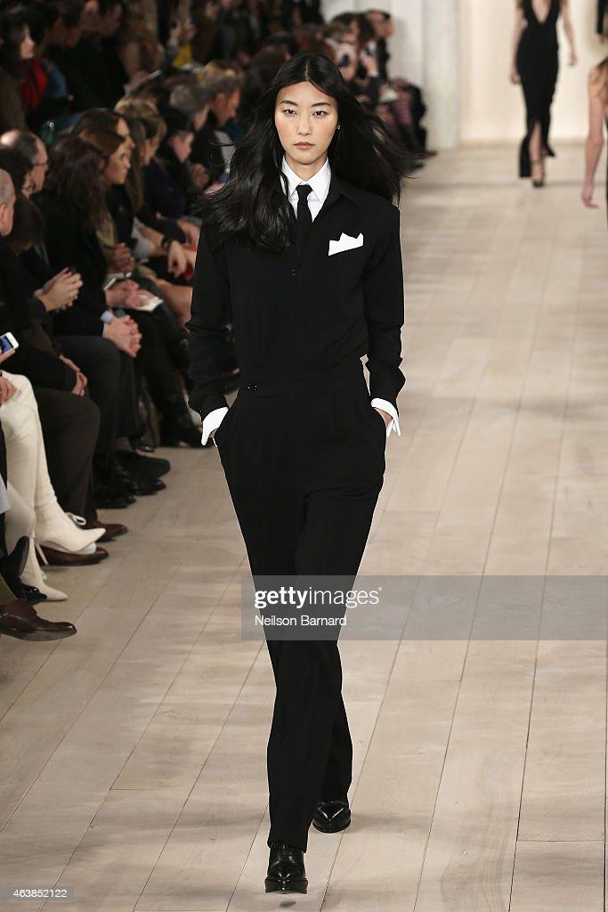 Ralph lauren runway mercedes benz fashion week fall for Mercedes benz fashion show