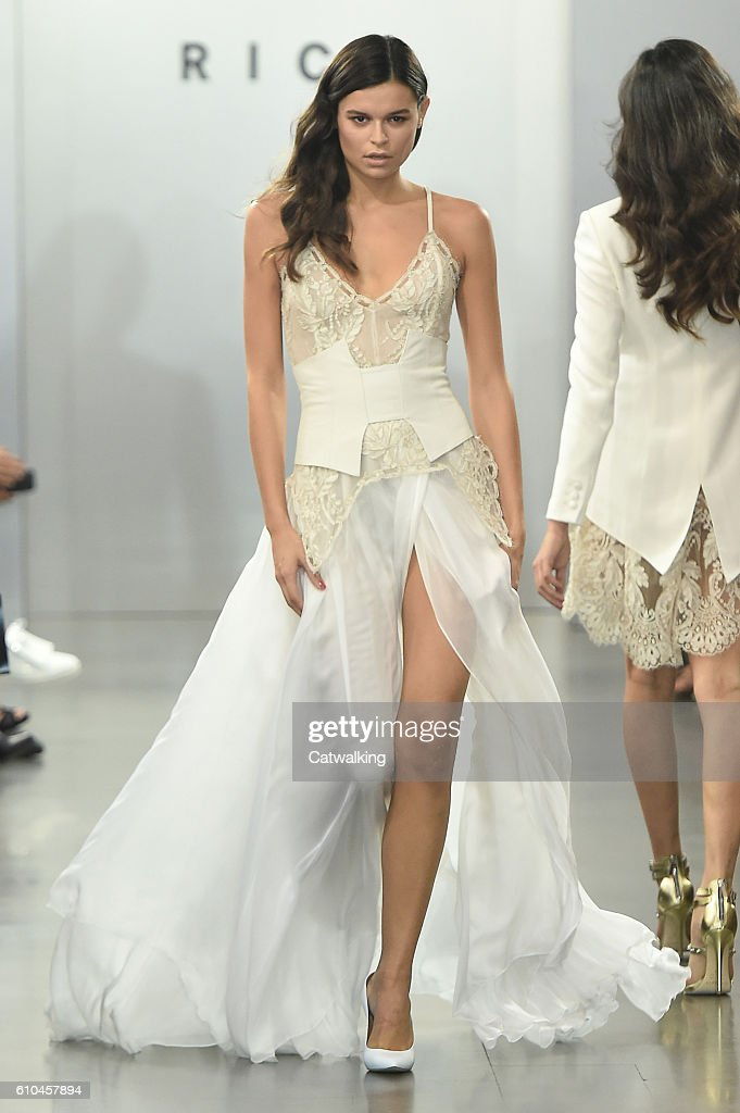 model-walks-the-runway-at-the-rich-spring-summer-2017-fashion-show-picture-id610457894
