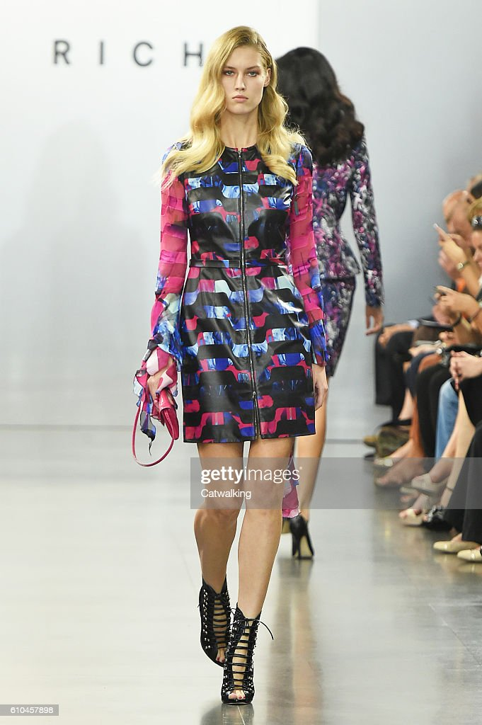 model-walks-the-runway-at-the-rich-spring-summer-2017-fashion-show-picture-id610457898
