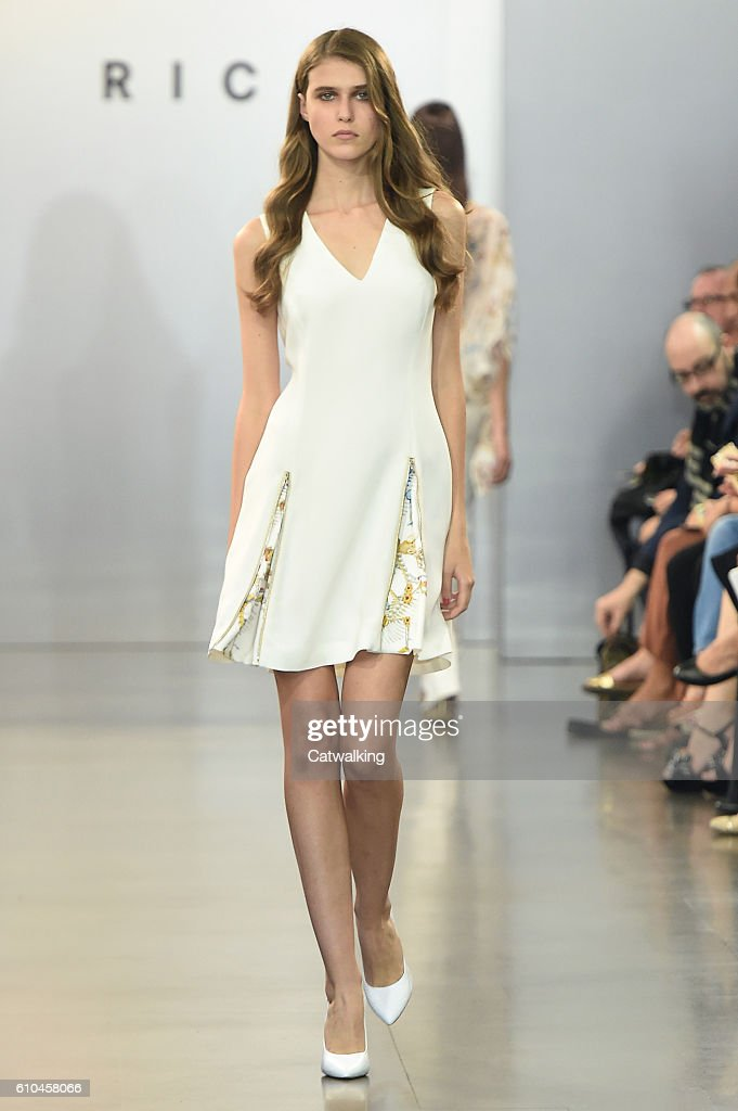 model-walks-the-runway-at-the-rich-spring-summer-2017-fashion-show-picture-id610458066