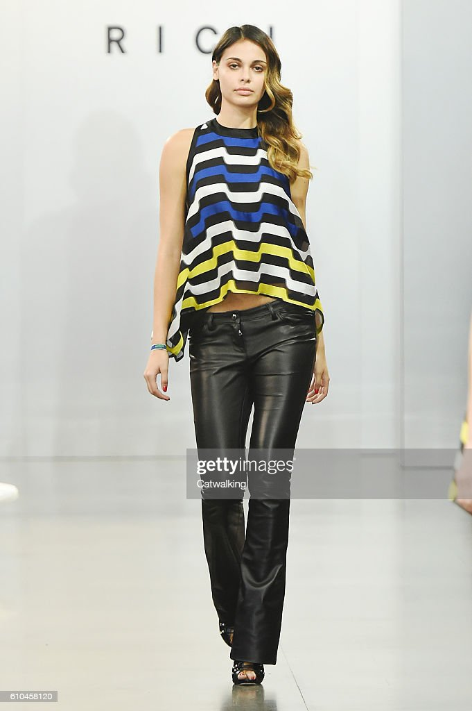model-walks-the-runway-at-the-rich-spring-summer-2017-fashion-show-picture-id610458120
