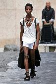 Rick Owens : Runway - Paris Fashion Week - Menswear...