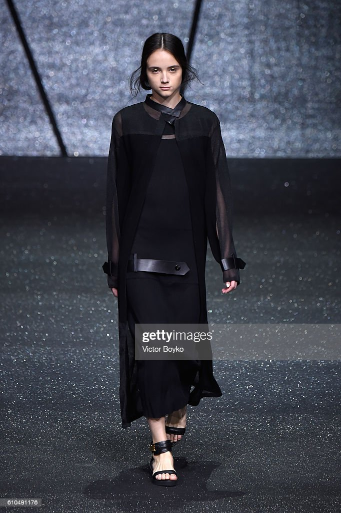 model-walks-the-runway-at-the-ricostru-show-during-milan-fashion-week-picture-id610491176