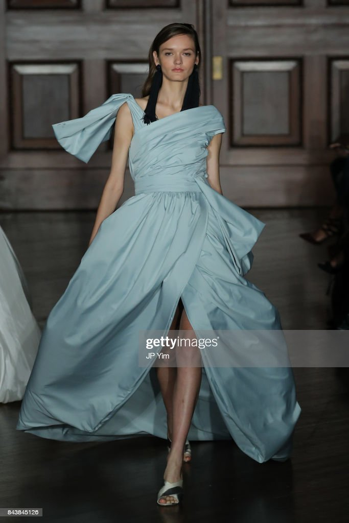 model-walks-the-runway-at-the-sachin-babi-ss2018-collection-during-picture-id843845126