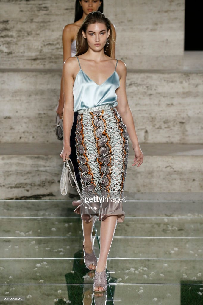 model-walks-the-runway-at-the-salvatore-ferragamo-show-during-milan-picture-id852875930