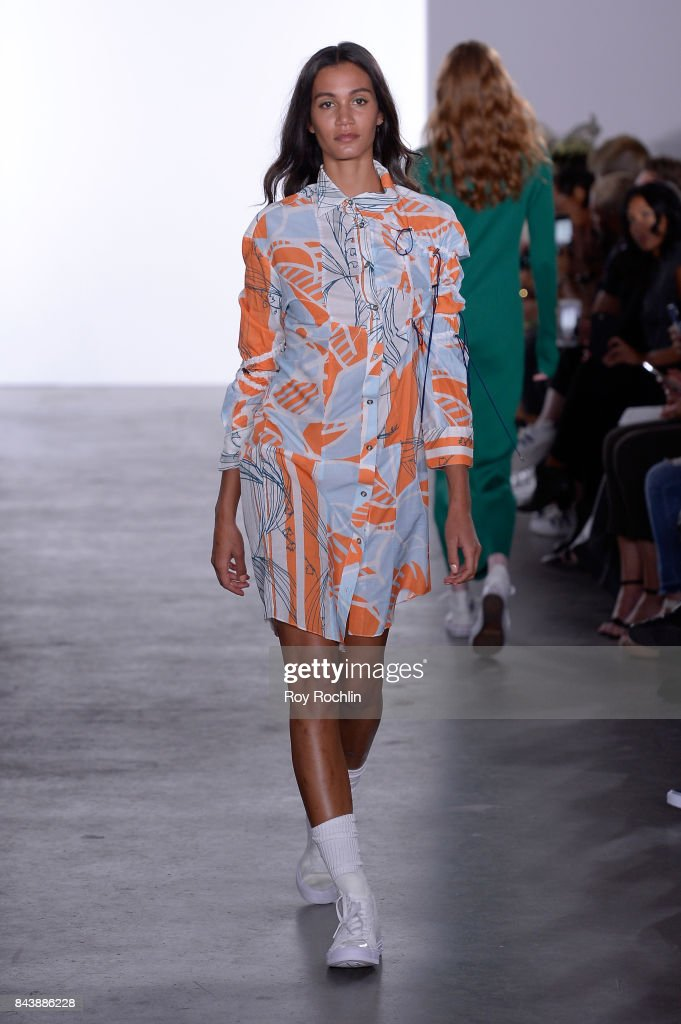 model-walks-the-runway-at-the-sechs-element-presentation-during-new-picture-id843886228