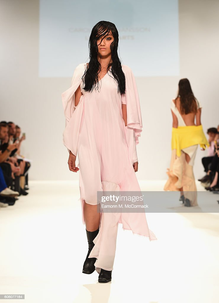 model-walks-the-runway-at-the-swedish-school-of-textiles-show-at-picture-id606077184