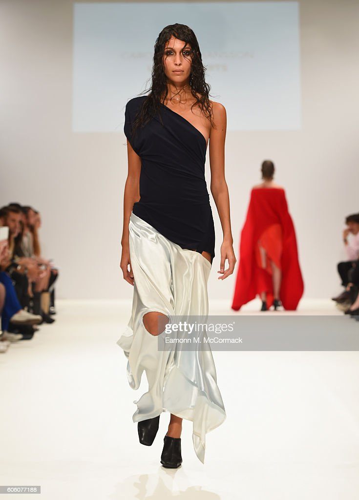 model-walks-the-runway-at-the-swedish-school-of-textiles-show-at-picture-id606077188