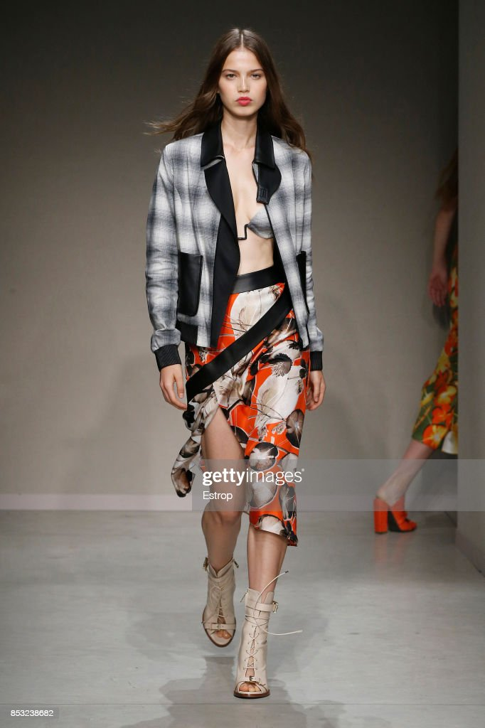 model-walks-the-runway-at-the-trussardi-show-during-milan-fashion-picture-id853238682