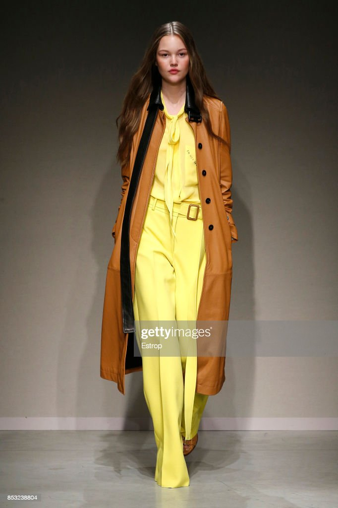 model-walks-the-runway-at-the-trussardi-show-during-milan-fashion-picture-id853238804