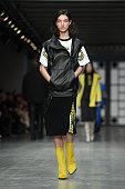 Trussardi - Runway - Milan Fashion Week Fall/Winter...