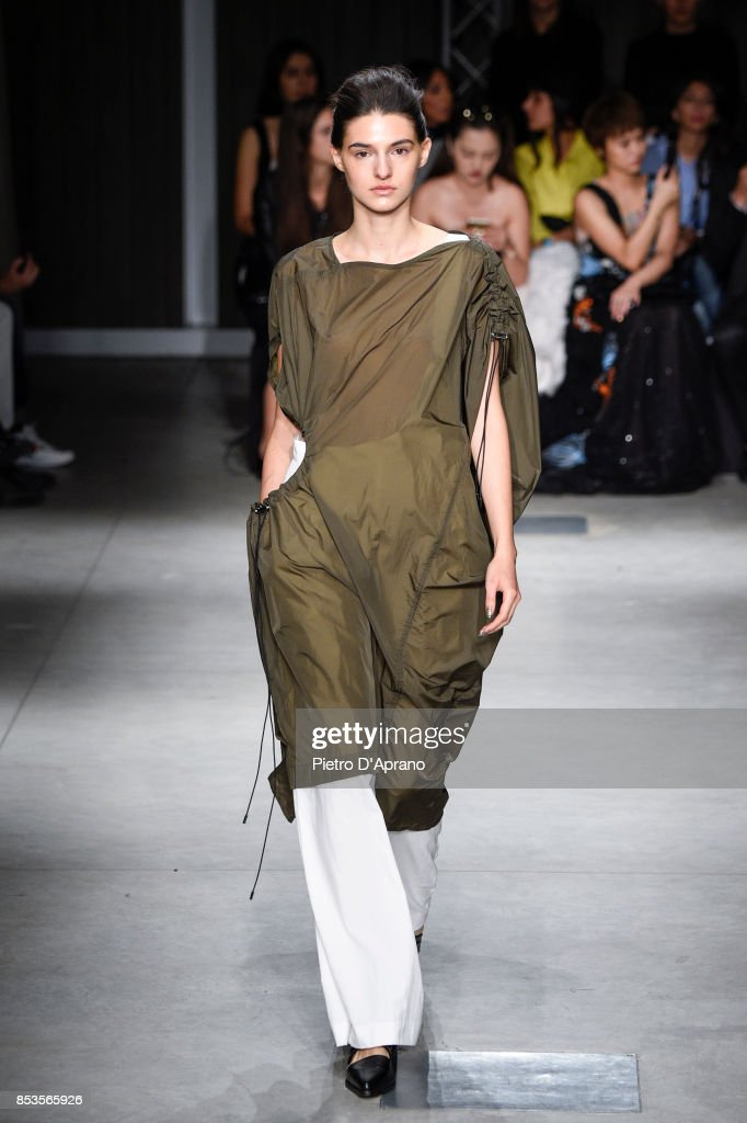 model-walks-the-runway-at-the-ujoh-show-during-milan-fashion-week-picture-id853565926