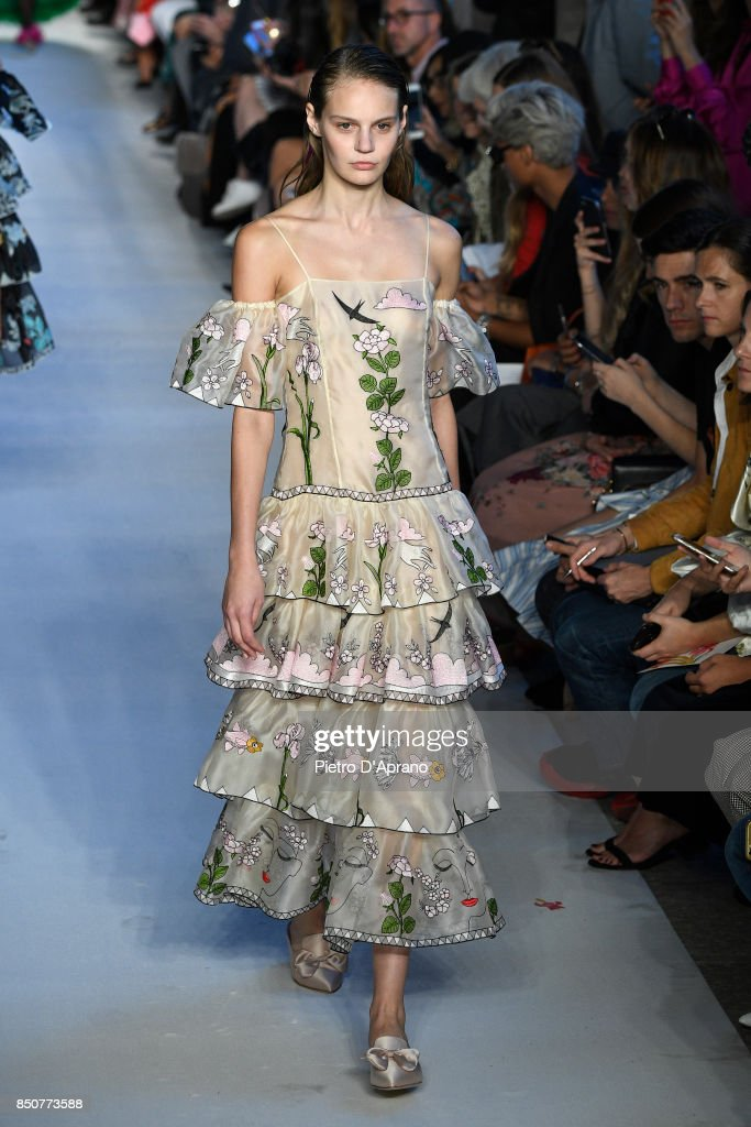 model-walks-the-runway-at-the-vivetta-show-during-milan-fashion-week-picture-id850773588