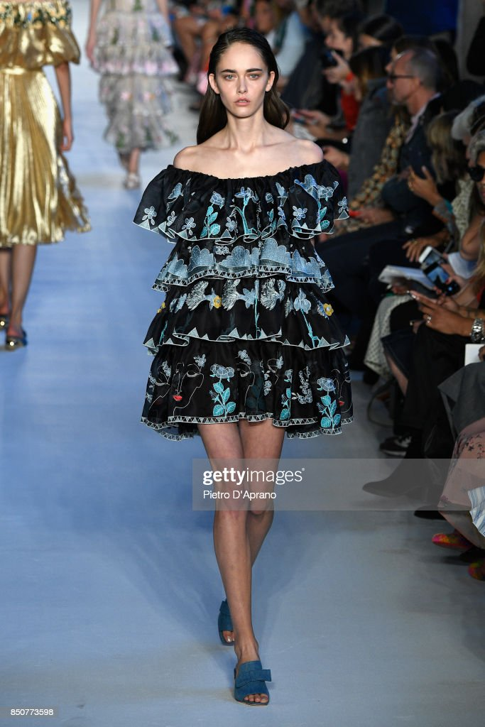 model-walks-the-runway-at-the-vivetta-show-during-milan-fashion-week-picture-id850773598