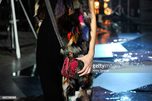 A model walks the runway detail during the Zadig Voltaire show as part of Paris Fashion Week Womenswear Fall/Winter 2015/2016 on March 5 2015 in...