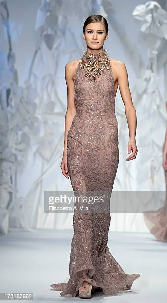Abed mahfouz designer label stock photos and pictures for Haute couture labels