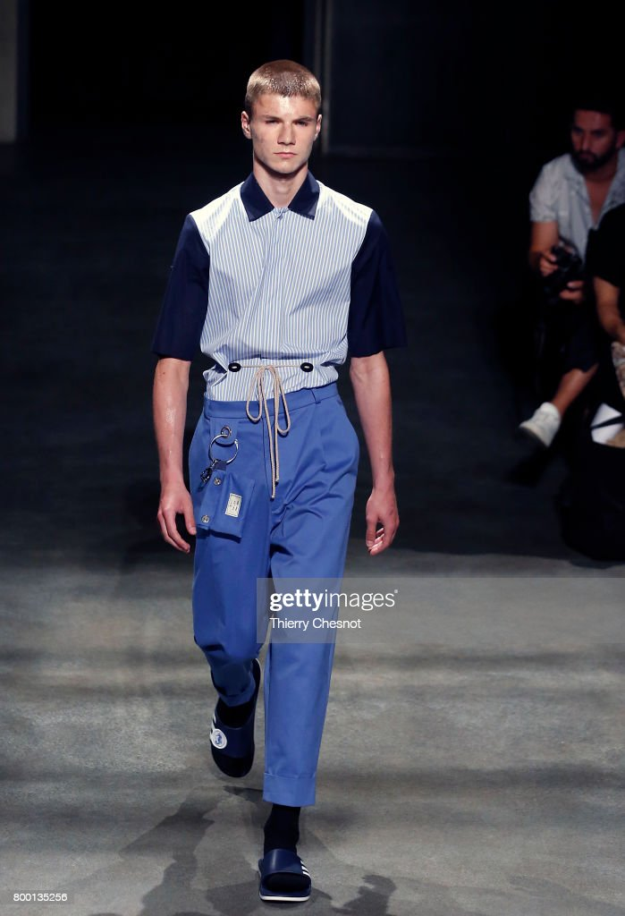 model-walks-the-runway-during-the-224_hommes-menswear-springsummer-picture-id800135256