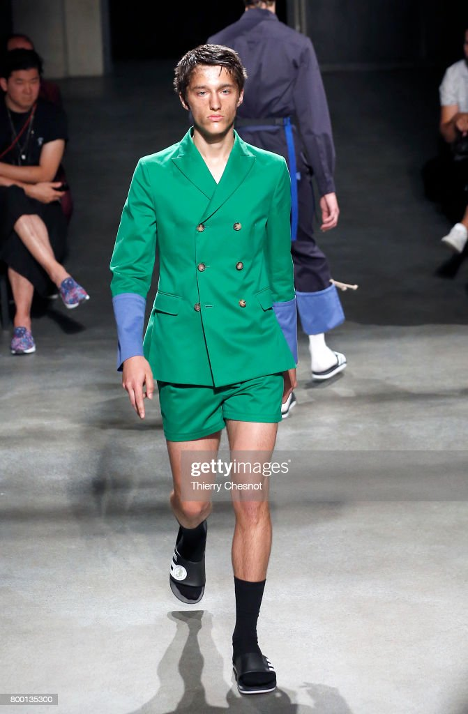 model-walks-the-runway-during-the-224_hommes-menswear-springsummer-picture-id800135300